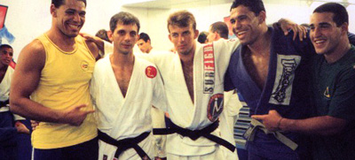 Awarded Jiu Jitsu Black Belt by Ricardo De LaRiva in 1999