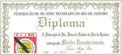 <ib></ib>JJF 3-Stripe Brazilian Jiu Jitsu Black Belt